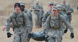 Cadets receive Emergency First Response (EFR) training