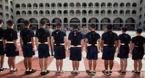 The Citadel draws record-setting freshman class
