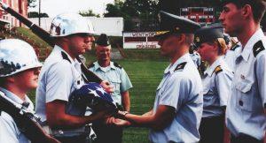 Podcast with Military School Alumnus - Major James Bithorn