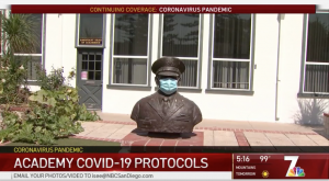 NBC Report on Army and Navy Academy COVID Operations